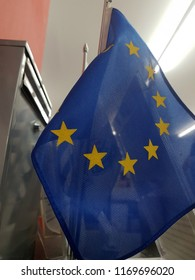 Small flag of the European Union
