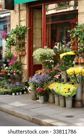 Small flower shop