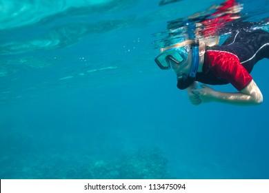 small freediver