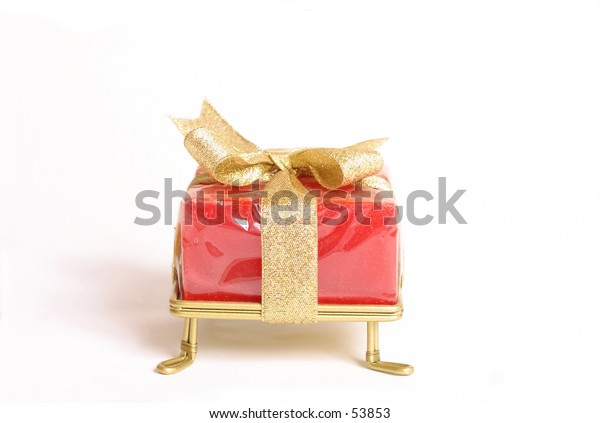 Small gift with bow
