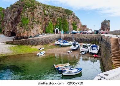 Small Harbor on Sark, Channel Islands, UK