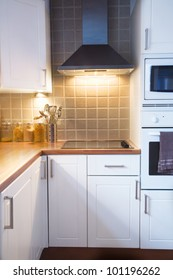 Small Home Domestic Kitchen interior