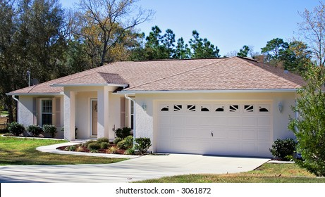 A small home in Florida owned by retired senior.