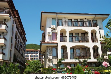 Small hotel Bulgaria the Balkan mountain summer resort of St. Vlas