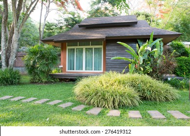 Small House With A Garden