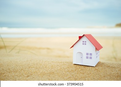 Small house on the beach.