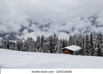 small house in zillertal Alps, Tyrol, Austria