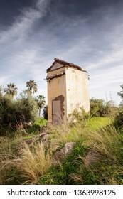 small hut in almunecar spain