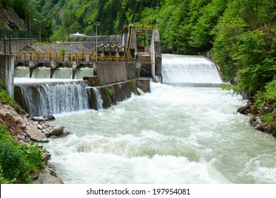 Small hydro power plant in Turkey