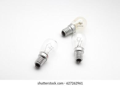 A small incandescent lamp