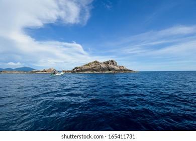 The small island of Andaman sea, Thailand