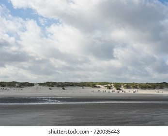 small Island in the german North sea - Shutterstock ID 720035443