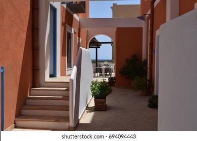 Small Italian courtyard
