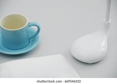 Small items on the desk