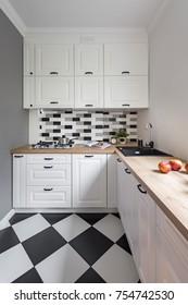 Luxury Kitchen Backsplash Images Stock Photos Vectors Shutterstock