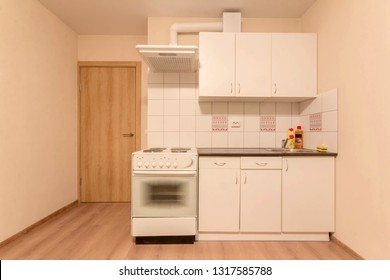 small kitchen in the Studio apartment