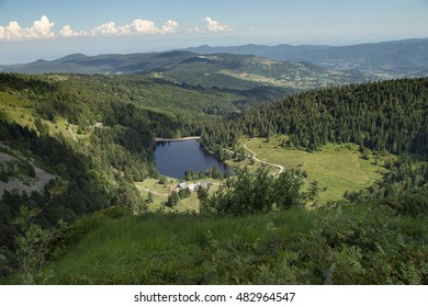 small lake in germany panorama
