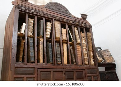 small library of ancient and rare books