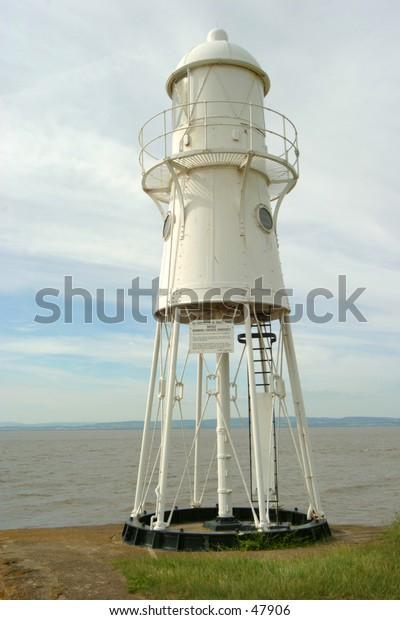A small lighthouse