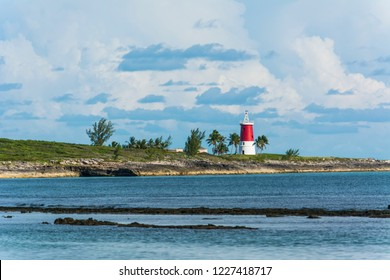 A small lighthouse in Bimini