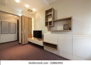 Small living room interior