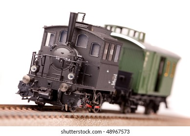 Small locomotive model