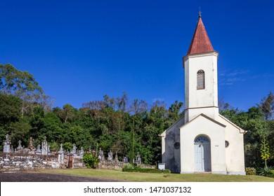 Small Lutheran Church in Rio Pardinho, Santa Cruz do Sul, Brazil