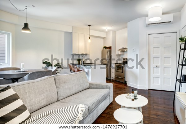 Small Modern Apartment Montreal Canada Stock Photo (Edit Now ...