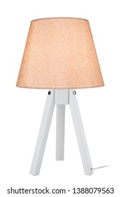 small modern lighting of the rooms lampshade