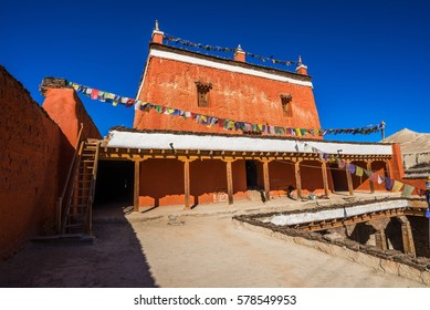 A small monastery in Lo Manthang, Mustang, Nepal