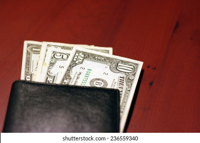 small money bills for current payment of the services