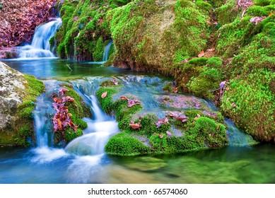 small mountain brook