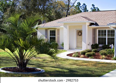 A small neat Florida home - owned by a happy former Ohioan.