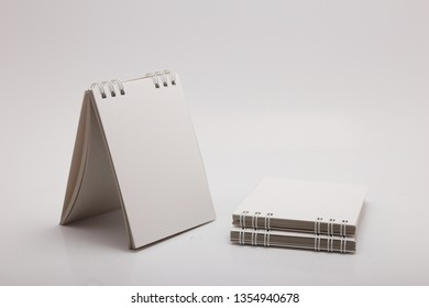 small notebook with wire binding