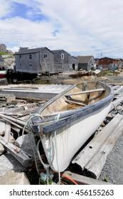 Small Nova Scotia Fishing Boat