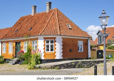 A small old House, situated in Prastoe Denmark, often used as a Scenery in elder Danish films-