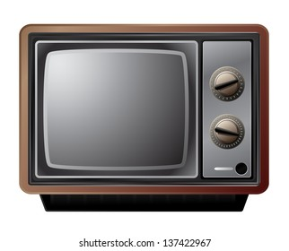 small old tv