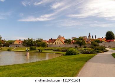 The small park Almedalen