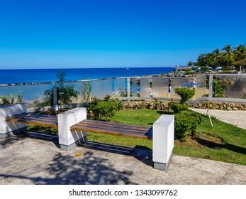 The small park of Sosua, Playa Alicia