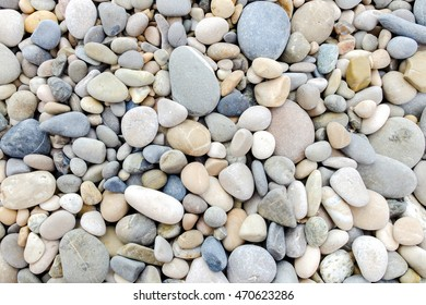 Small pebble rocks, pattern with gray tones