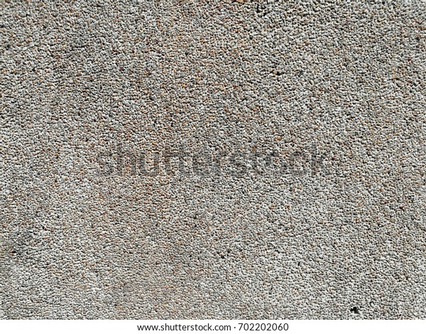 Small pebble wall