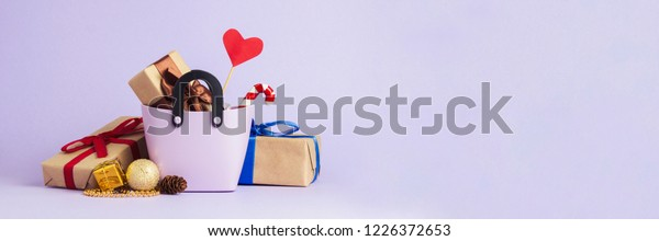 Small Plastic Bag Shopping Gift Boxes Stock Photo Edit Now 1226372653