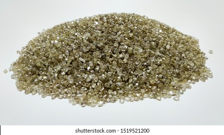 small raw rough diamonds ready for assortment in diamond district Antwerp Belgium