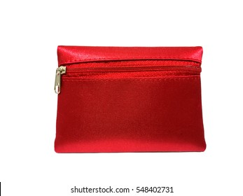 Small Red Coin Purse.