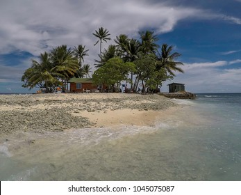 The small and remote Jeep Island in Chuuk State (also known as Truk Lagoon)