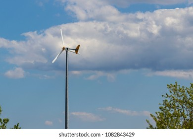 Residential Wind Turbines Stock Photos, Images & Photography