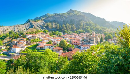 small resort village in Greece in the mountains of central Greece, Zagori, Europe