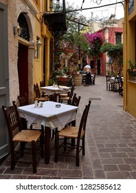 Small restaurants in Chania, Crete