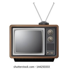 small retro tv