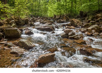 Small river called Ilse in Harz Germany